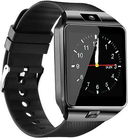 Amazon.com: Qidoou - Reloj inteligente con Bluetooth y ...