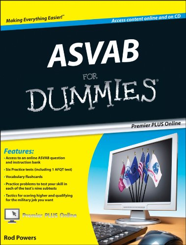 ASVAB For Dummies, Premier 3rd Edition by For Dummies