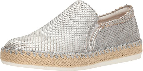 Dr. Scholl's Women's Sunnie - Original Collection Silver Metallic Snake Print Leather 9.5 M US ()