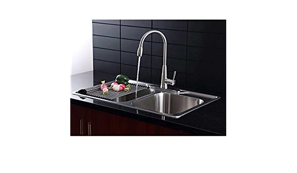 Beautiful Bar Sink and Faucet Combo