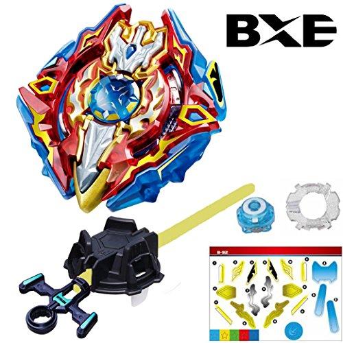 Bxe Bey Gyro Burst Starter B 92 Sieg Xcalibur 1 Ir Bey Battling Top With Launcher Stater Set High Performance Battling Top