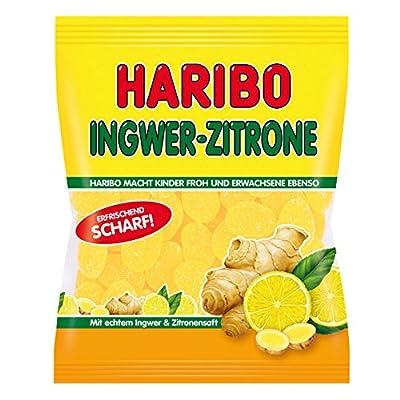 Haribo Ginger-Lemon Gummi Candy 175g/6.17oz