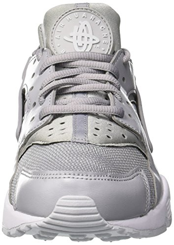 Nero 032 Wmns Huarache Platinum Grey Run da Air Ginnastica Donna White NIKE Pure Wolf Scarpe 46x8xp