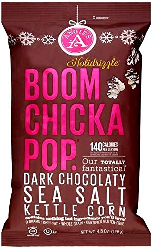 chocolate and sea salt popcorn - 9