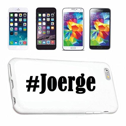 Handyhülle iPhone 4 / 4S Hashtag ... #Joerge ... im Social Network Design Hardcase Schutzhülle Handycover Smart Cover für Apple iPhone … in Weiß … Schlank und schön, das ist unser HardCase. Das Case w