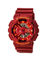 Casio G-Shock Red Watch GA110AC-4A