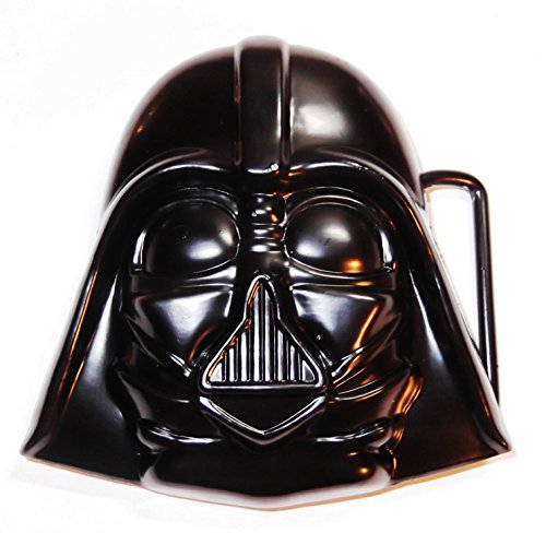 Main Street 24/7 Star Wars Darth Vader Helmet Metal/Black Enamel Belt Buckle