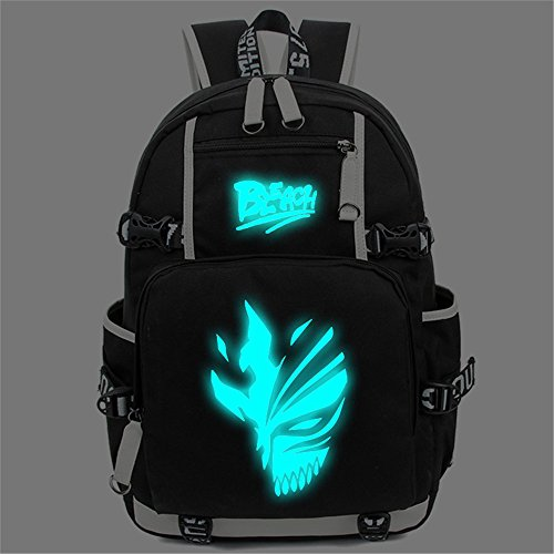 Siawasey Anime Bleach Cosplay Luminous Bookbag Backpack S...