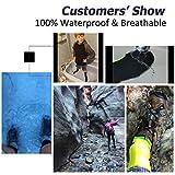RANDY SUN 100% Waterproof Socks, Breathable Unisex
