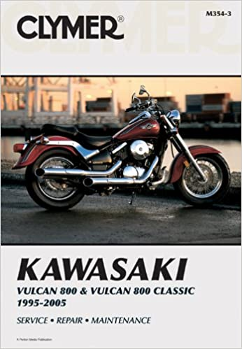 Kawasaki vulcan 800 classic 95 05 clymer motorcycle repair kawasaki vulcan 800 classic 95 05 clymer motorcycle repair 3rd edition fandeluxe Images