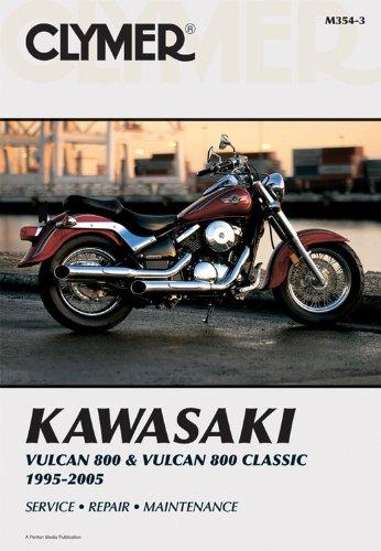 Kawasaki Vulcan 800 & Classic 95-05 (Clymer Motorcycle Repair)
