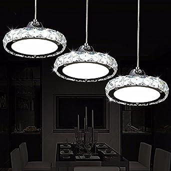 Led Leuchten Im Restaurant Restaurant Crystal Kronleuchter Drei Moderne,  Einfache Runde Wohnzimmer Esszimmer Bar