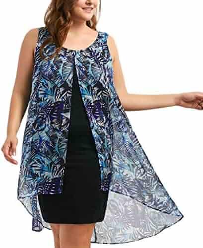 1d18cbd6a7b Shopping Blues - 3X - 3/4 Sleeve - Dresses - Clothing - Women ...