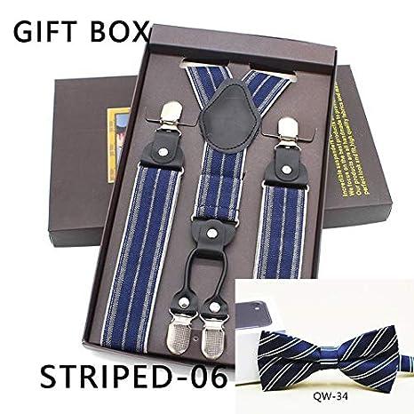 ADRFB Color sólido Varios Patrones Cinturón de Hombre Conjunto de ...