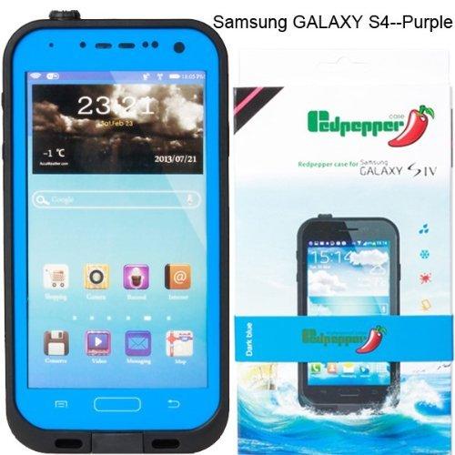 For Samsung Galaxy S4 Waterproof Superproof Dirtproof Snowproof Shockproof Case for Samsung Galaxy S4(Blue)
