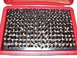 M1 Minus Plug Pin Gage Set 0.061-0.250'' 190 Pcs