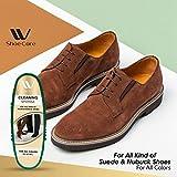 WBM LLC W Care Polish Kit | Black Cleaning and Shoe Shining Sponge For Leather, Suede,Nubuck, Mesh & More