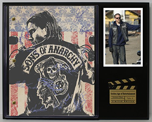 """SONS OF ANARCHY LTD EDITION REPRODUCTION SIGNED TELEVISION SCRIPT DISPLAY""""C3"""""""