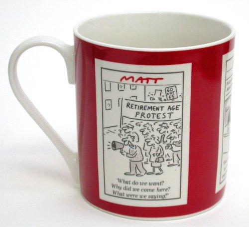 Matt Boxed 350ml Mug Retirement (red)