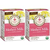 Traditional Medicinals Organic Mother's Milk Herbal Tea 2-pack;32 Count. Size: 2 Pack, Model: