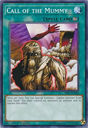 Yu-Gi-Oh! - Call of The Mummy - SR07-EN028 - Common - 1st Edition - Structure Deck: Zombie Horde
