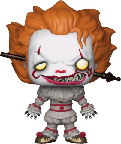 Funko Pop Movies: IT Pennywise with Wrought Iron Exclusive