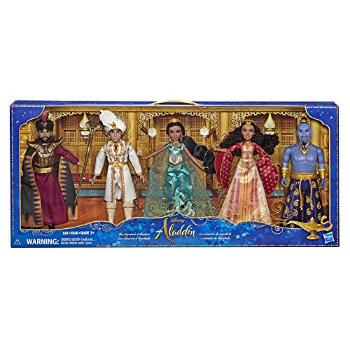 Disney Aladdin Agrabah Collection, 5 Fashion Dolls with