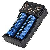 EBTOOLS Battery Charger, Liitokala Lii-202 USB
