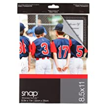 Snap 07FP887 Clear Magnetic Document Frame, 8-1/2-Inch by 11-Inch
