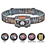 Linkax LED Headlamp Headlight Head Torch...