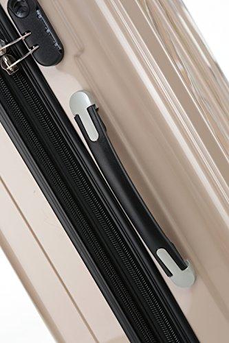 51DvdssYWIL - Beibye - Juego de 3 maletas rígidas (tamaños XL, L y de mano), color lila