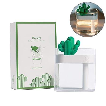 Novedoso Cactus luz nocturna humidificador - 160 ml USB ...