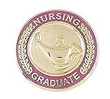 Nursing Pin-- Graduation Pinning Ceremony For Nurses (RN, MSN, BSN, CNA etc) Pink Enamel Pin (Value Pack) (100 pins)