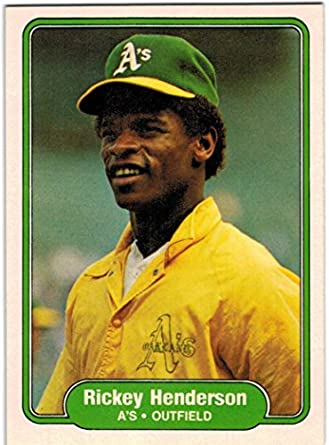 1982 Fleer Oakland Athletics Team Set with 2 Rickey Henderson   Shooty  Babitt RC - 26 4b08a4f07