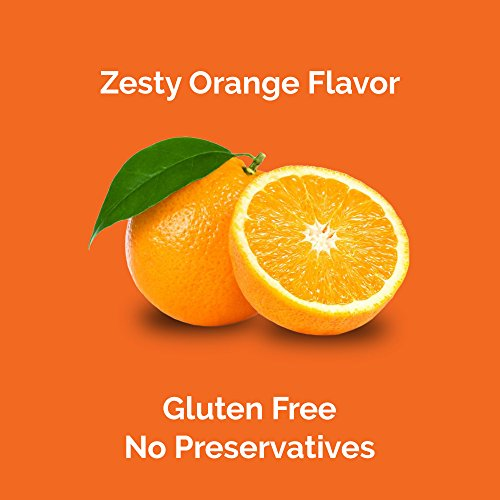 Airborne Vitamin C Effervescent Tablets, Zesty Orange, 20 Count Photo #3