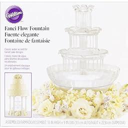 Wilton 306-1147 Fanci Flow Wedding Cake Fountain