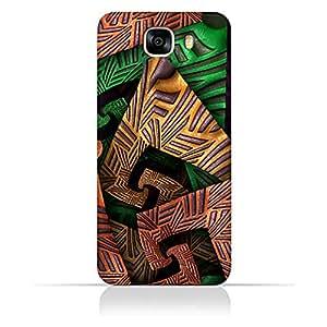 AMC Design Samsung Galaxy C5 Pro Fractal Art 04 Design Case - Multi Color