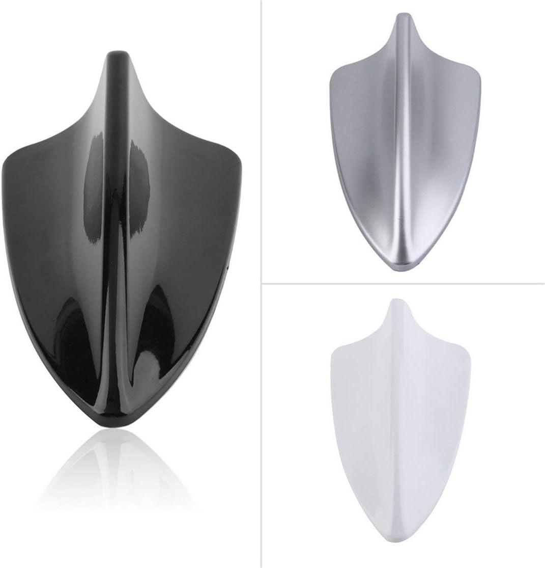 Kaemma Antennes de Voiture rempla/çant imperm/éable Forme de d/érive de Requin Automatique Signal a/érien antenne Mannequin factice Outil de Remplacement de Voiture de Toit Color:Black