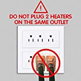 Electric Portable Bucket Heater, Gesail UL-Listed