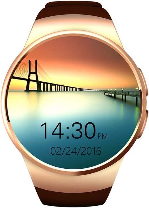 HKPLDE Smartwatch/con Cámara Ranura para Tarjeta SIM/Fitness Tracker Podómetro Monitor De Sueño Impermeable para Hombres Mujer para Android E iOS