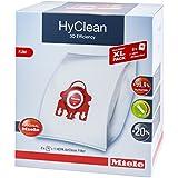 Miele XL Pack - 8x Miele Hyclean 3D FJM Vacuum Bags +1 Miele Hepa Filter SF-HA 50