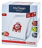 Miele XL Pack - 8x Miele Hyclean 3D FJM Vacuum Bags +1 Miele Hepa...