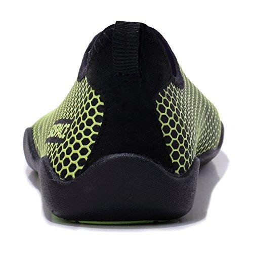 Sixspace Escarpines Fluorescent 02 para Mujer Green rrwqZ1O