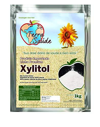 Xilitol Xylitol Terra Saúde Cristalizado 1kg + Brinde