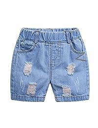 Kidscool Baby & Toddler Ripped Denim Shorts