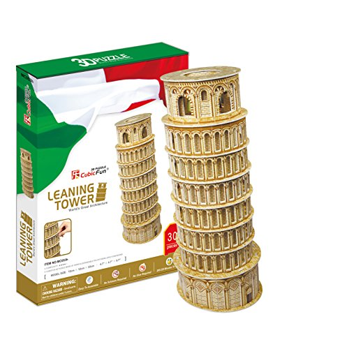 CubicFun MC053H Leaning Towers of Pisa Puzzle - Leaning Tower Of Pisa