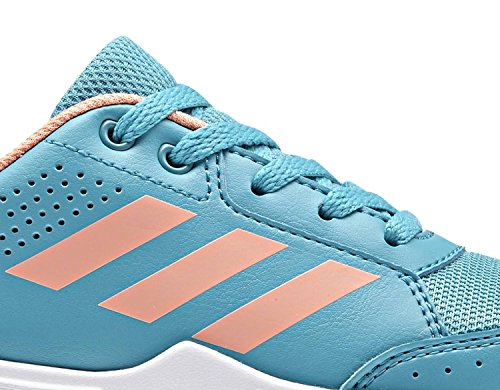 adidas Unisex-Kinder Interplay 2 Fitnessschuhe BLACK/TACROS