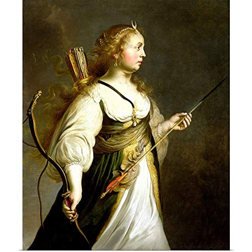 GREATBIGCANVAS Poster Print Entitled Diana by Adam Camerarius 10