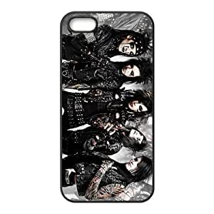 Customize Black Veil Brides Back Case for iphone5 5S JN5S-2111