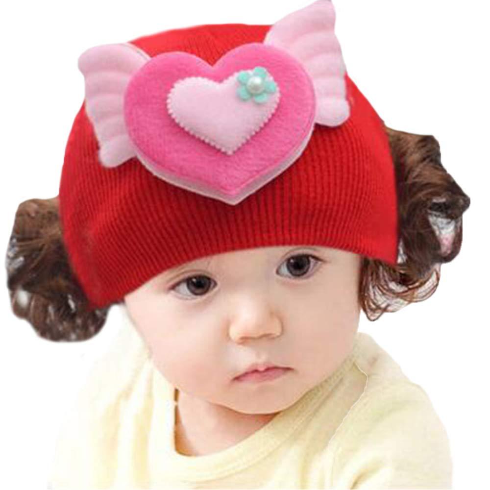 SMARTRICH - Gorro de Punto de Ganchillo para bebé (13-18 Meses) A ...